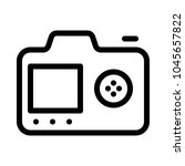 camera function and display   Shutterstock .eps vector #1045657822