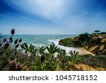 view of landscape with cliff... | Shutterstock . vector #1045718152