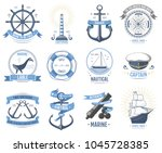 sea nautical vector old rettro...