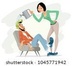 vector illustration of... | Shutterstock .eps vector #1045771942