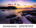 koh kood   sunset view point | Shutterstock . vector #1045787425