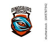 emblem  badge  sticker  logo of ... | Shutterstock .eps vector #1045787542