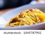 Spaghetti Carbonara With Egg ...