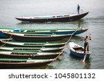 varanasi  india   mar 13  2018  ... | Shutterstock . vector #1045801132