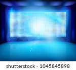 Led Projection Screen On The...
