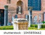 rome  italy   april 14  2017 ...   Shutterstock . vector #1045850662