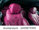 modern luxury car inside....