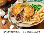 Homemade Beef Stew Pie With...