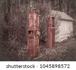 Small photo of Old Gas Pump Fill Up
