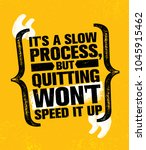 it's a slow process but... | Shutterstock .eps vector #1045915462