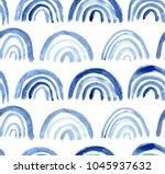 seamless pattern of hand made... | Shutterstock . vector #1045937632