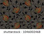 seamless traditional pattern | Shutterstock . vector #1046002468
