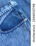 pocket and rivet on jeans.... | Shutterstock . vector #1046010748