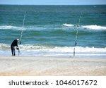 Surf Fisherman On The Beach...