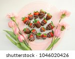 Chocolate Strawberries With...