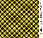 yellow lumberjack buffalo plaid ...   Shutterstock .eps vector #1046021482