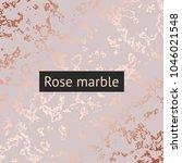 rose marble. vector decorative... | Shutterstock .eps vector #1046021548
