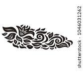 floral pattern. vector... | Shutterstock .eps vector #1046031262