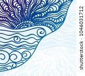 sea. vector illustration | Shutterstock .eps vector #1046031712