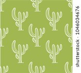 vector seamless pattern with... | Shutterstock .eps vector #1046034676