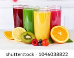 juice smoothie smoothies orange ... | Shutterstock . vector #1046038822