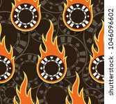seamless pattern with casino... | Shutterstock .eps vector #1046096602