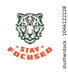 typography graphic tee print... | Shutterstock .eps vector #1046122228