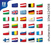 flags of the european union | Shutterstock .eps vector #1046124508