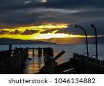 craigendoran pier  helensburgh  ... | Shutterstock . vector #1046134882