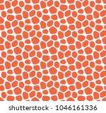 seamless vector mosaic pattern. ... | Shutterstock .eps vector #1046161336