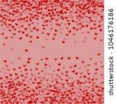 heart shape vector which... | Shutterstock .eps vector #1046176186