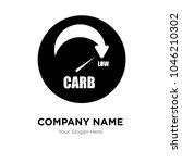 low carb company logo design... | Shutterstock .eps vector #1046210302