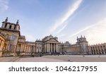 blenheim palace  oxford  united ... | Shutterstock . vector #1046217955