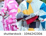 young girl wearing japanese... | Shutterstock . vector #1046242306