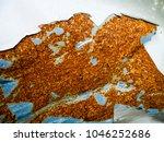 rusty steel sheet with heavy... | Shutterstock . vector #1046252686