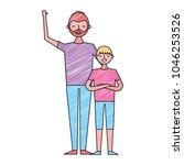 people character figure image   Shutterstock .eps vector #1046253526