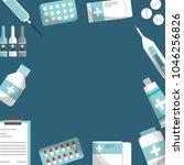 medical health care card   Shutterstock .eps vector #1046256826