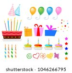 surprise birthday design... | Shutterstock .eps vector #1046266795