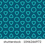 seamless modern vector... | Shutterstock .eps vector #1046266972