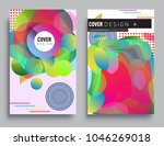 covers templates set with... | Shutterstock .eps vector #1046269018