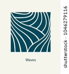 water wave logo abstract design.... | Shutterstock .eps vector #1046279116