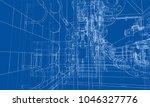 sketch industrial equipment.... | Shutterstock .eps vector #1046327776
