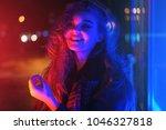 sexy young beauty woman posing... | Shutterstock . vector #1046327818
