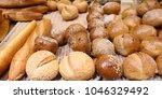 close up shot of fresh baked... | Shutterstock . vector #1046329492