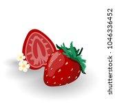 vector illustration of red... | Shutterstock .eps vector #1046336452