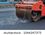 Heavy Asphalt Roller That Stac...
