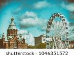 helsinki  finland   july 4 ... | Shutterstock . vector #1046351572