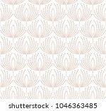 flower pattern. seamless white... | Shutterstock . vector #1046363485