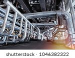 equipment  cables and piping as ... | Shutterstock . vector #1046382322