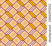 seamless abstract pattern with... | Shutterstock .eps vector #1046395312